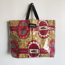 Load image into Gallery viewer, PVC TOTE [Khaki Bird]