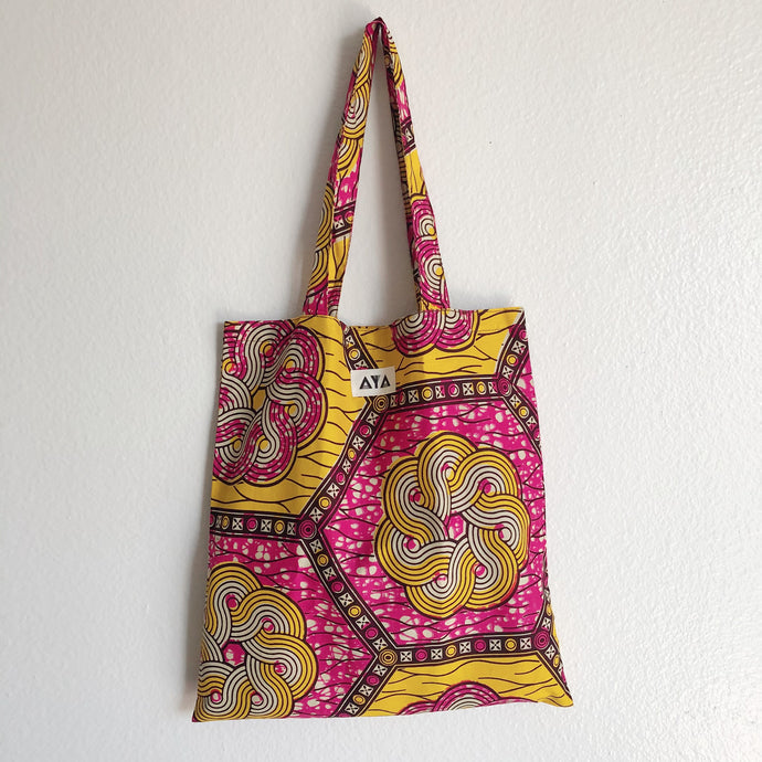 ECO TOTE [Pink Yellow]