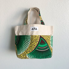 Load image into Gallery viewer, SMALL TOTE BAG [Green Yellow]
