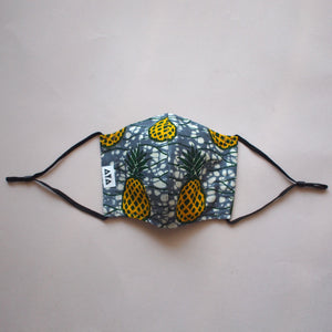 [2PC Mask Set ] PINEAPPLE PACK - LOOP Type