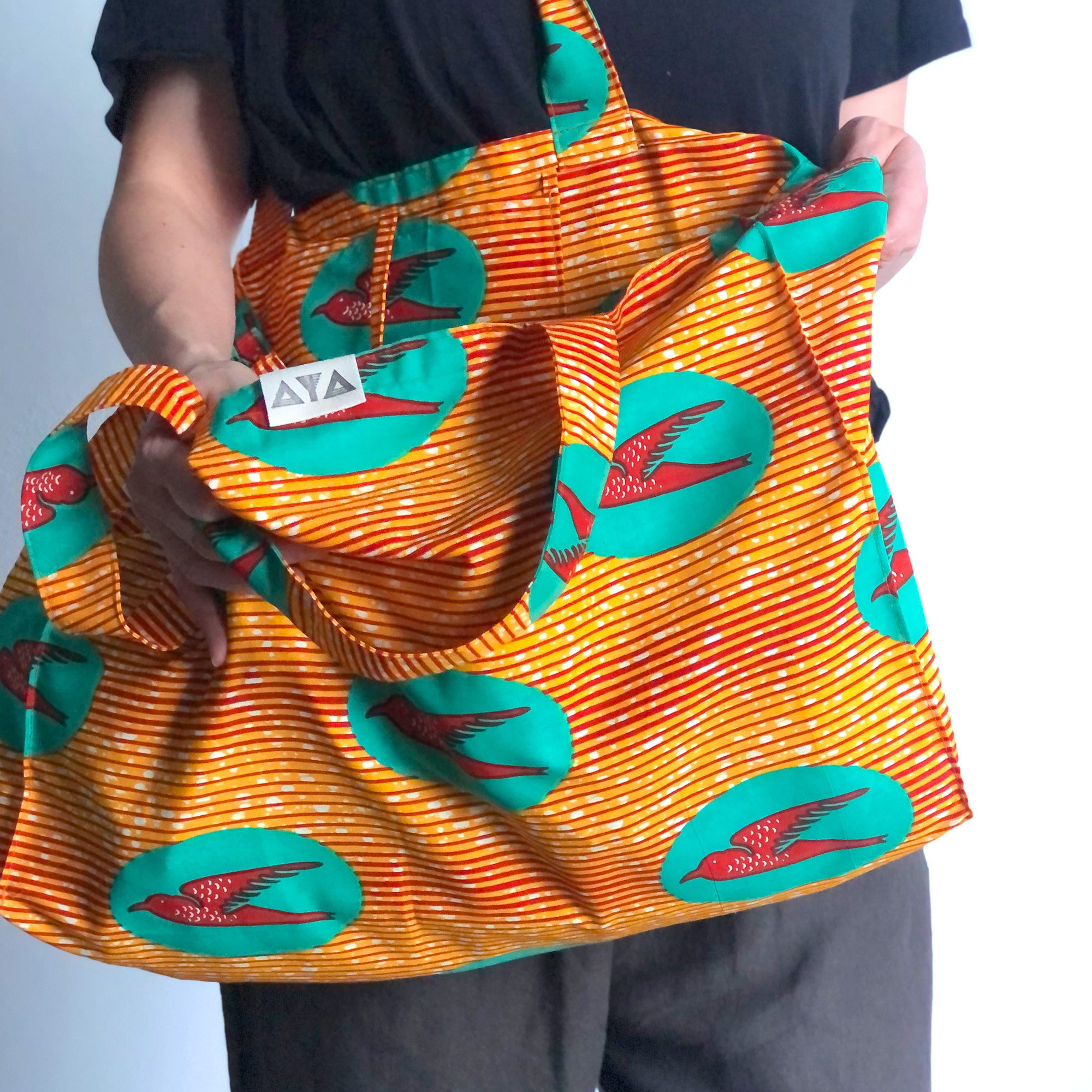 ECO BAG - XL [Orange Bird]