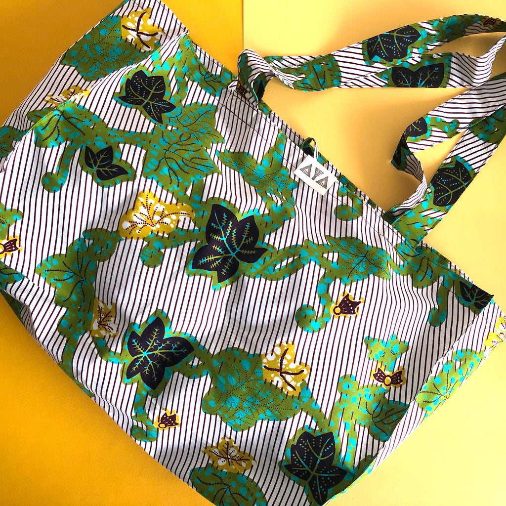 ECO BAG - XL [Green Plants]