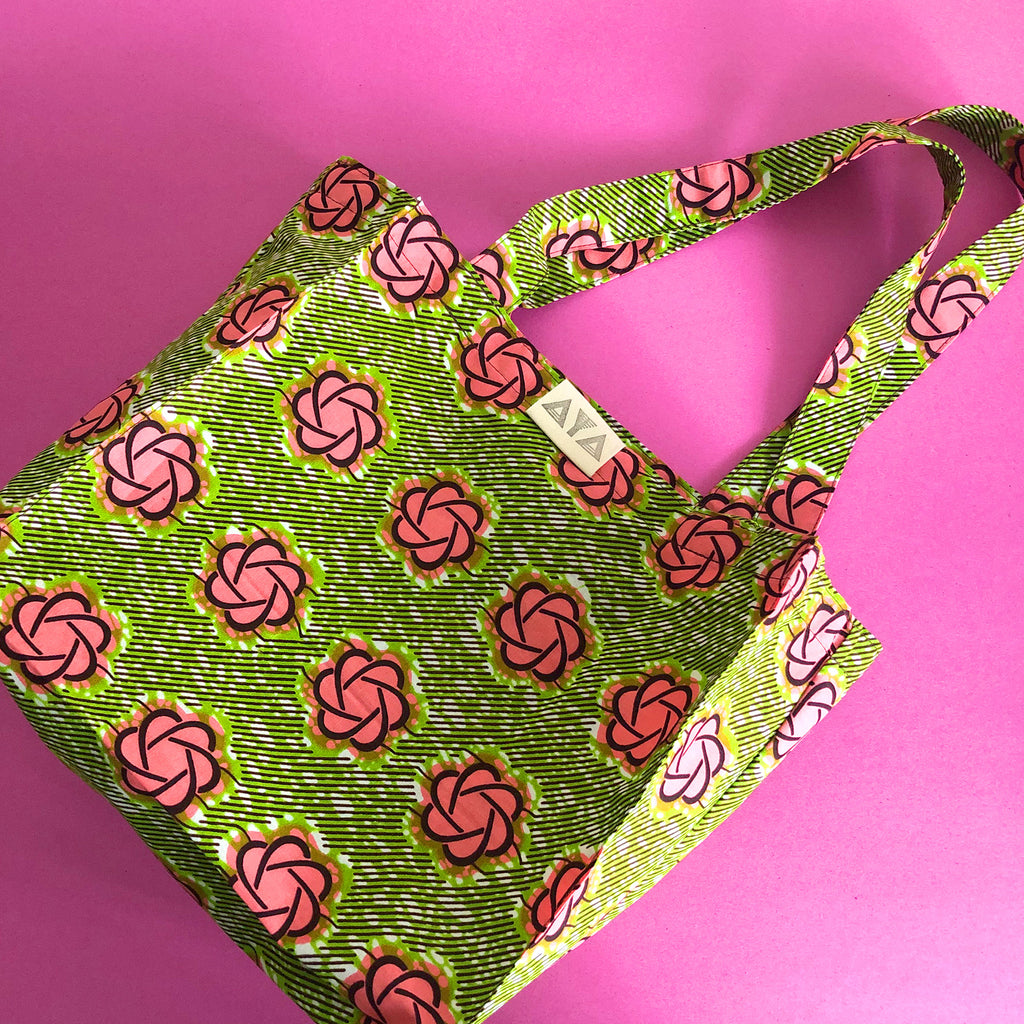 ECO BAG - M [Garden Rose]