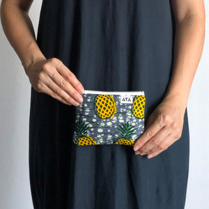 MINI POUCH [Yellow Pineapple]