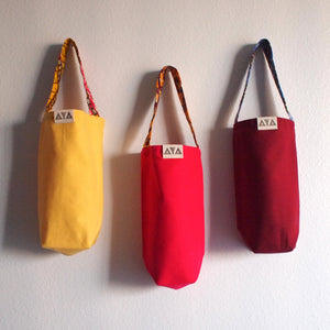 WINE TOTE  [3 Colors]