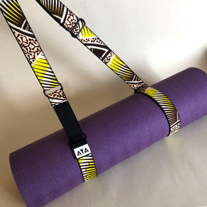 YOGA MAT STRAP [Lemon Pink]