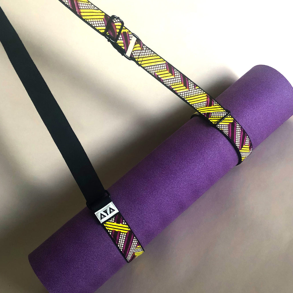 YOGA MAT STRAP [Neon Yellow]