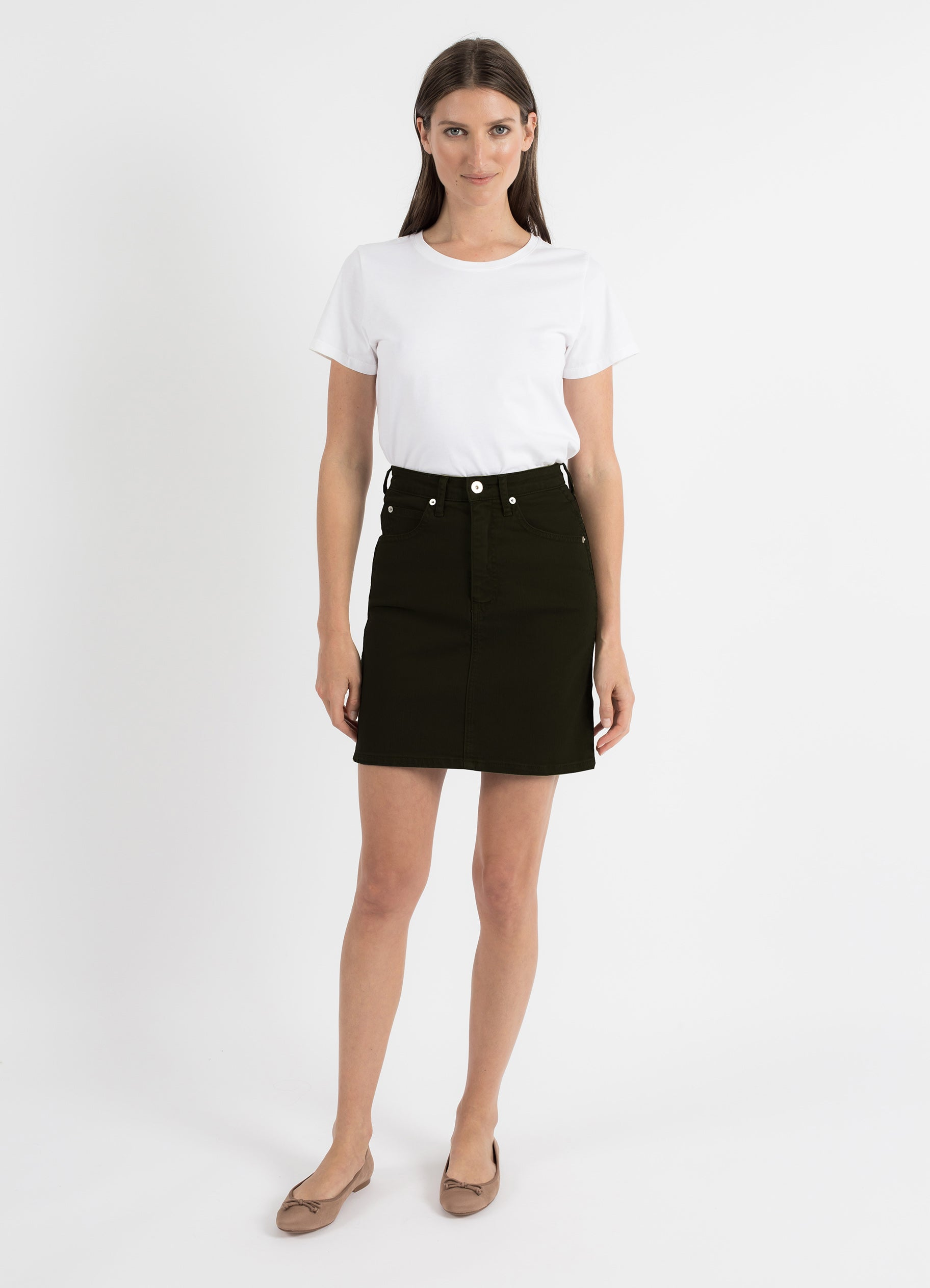 Tallulah Skirt in Noir