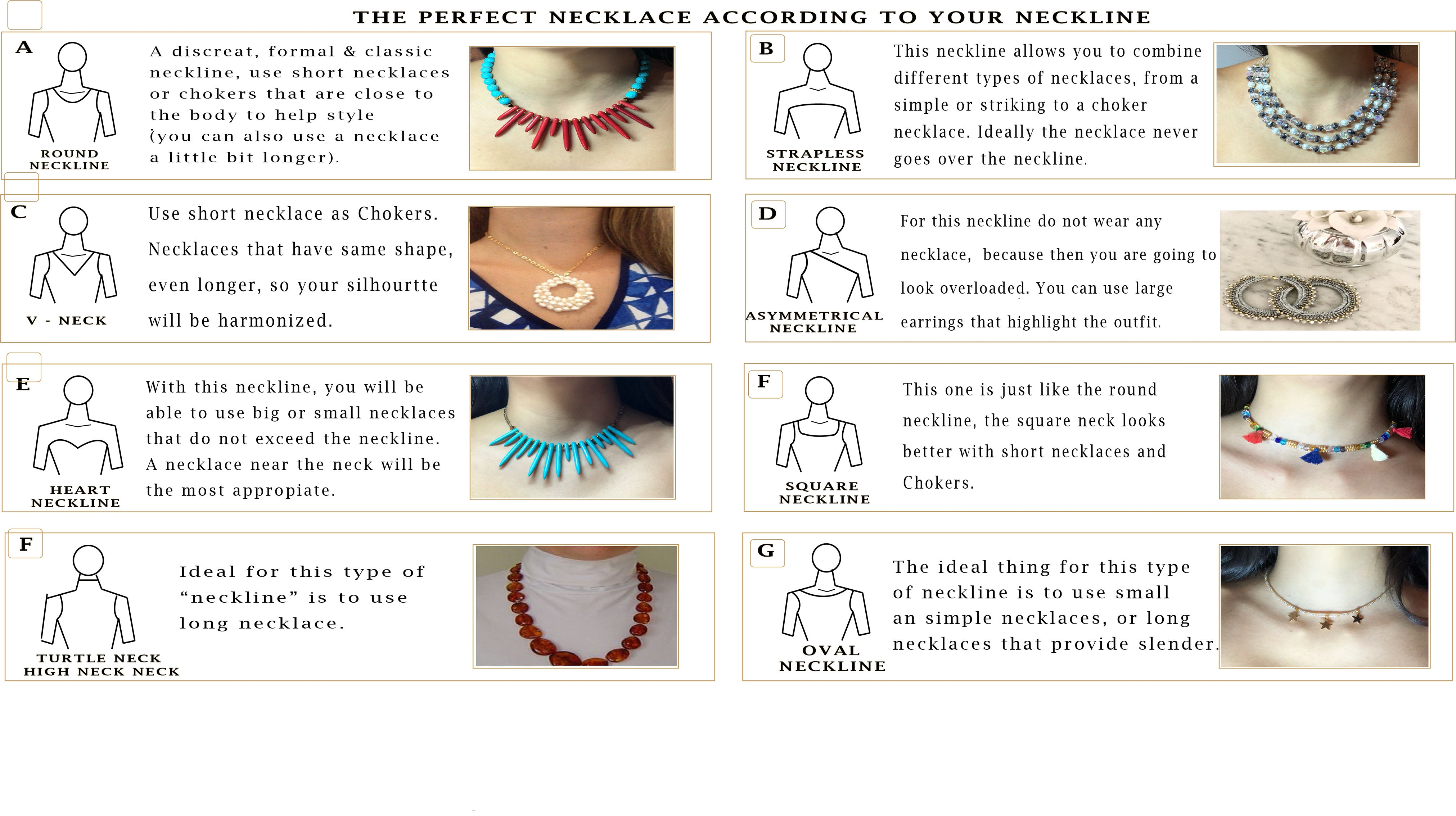 Which Necklace is Best? Visit the Adri Madrid Style Guide