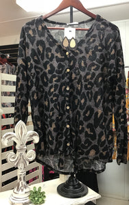 Leopard Print Long Sleeve