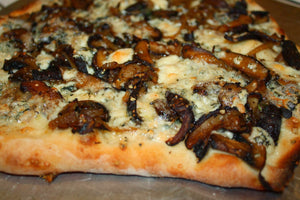Herb and Mushroom Pizza
