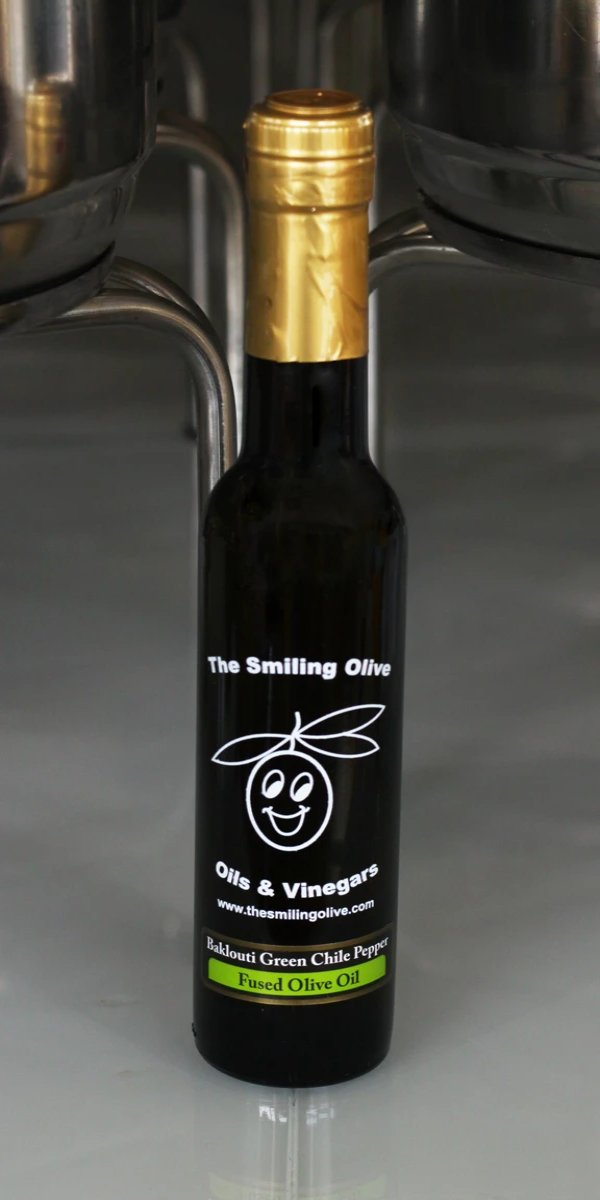 Green Baklouti Chili Pepper Fused Olive Oil