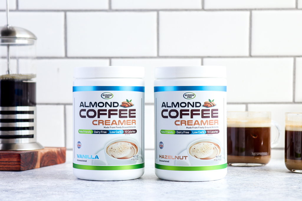 Almond Coffee Creamer Plus Free Priority Shipping