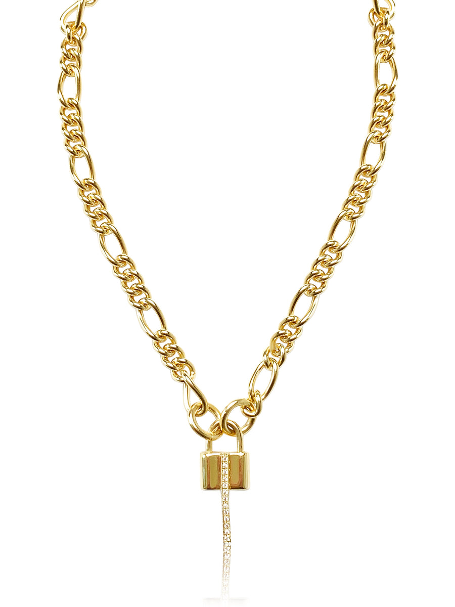 The Luxe Padlock Necklace