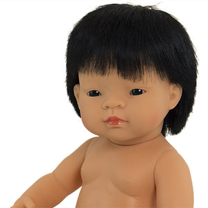 Miniland Doll- Asian Boy- 38cm