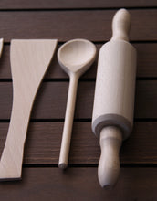 Load image into Gallery viewer, Wooden Kitchen Utensils- 7 Pcs