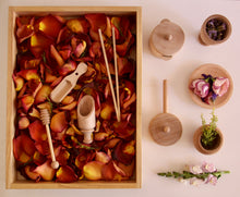 Load image into Gallery viewer, Wooden Sensory Bin Tools Pack