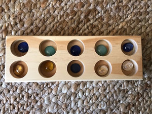 Wooden Tray (10 Holes)