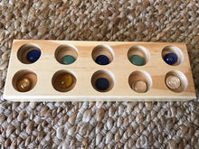 Load image into Gallery viewer, Wooden Tray (10 Holes)