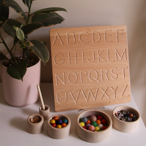 Alphabet Double-Sided Tracing Board