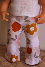 Load image into Gallery viewer, Blush Floral Flare Leggings