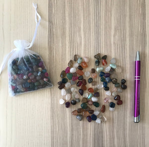 Mixed Fairy Crystal Agate Mini Chips