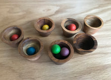 Load image into Gallery viewer, Mini Wooden Bowl