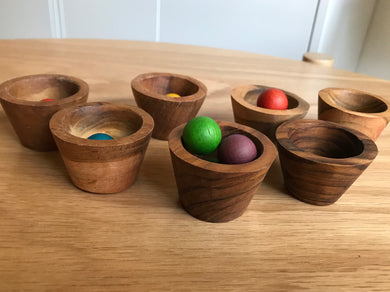 Mini Wooden Bowl