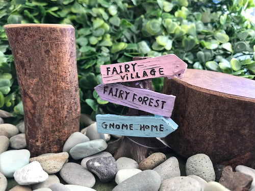 Fairy Tree with Signs