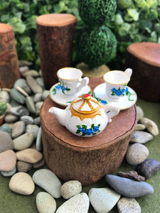 Mini Teacups and Teapot