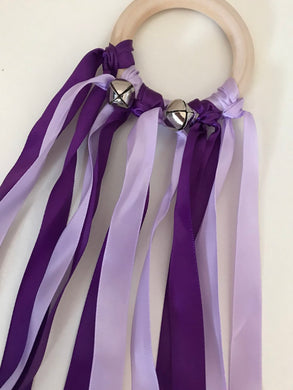 Purple Ribbon Shaker