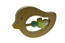 Load image into Gallery viewer, Wooden Animal Rattle