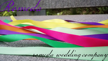 Load image into Gallery viewer, Ribbon Shaker with Colourful Bells