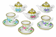 Load image into Gallery viewer, Mini Teacups and Teapot