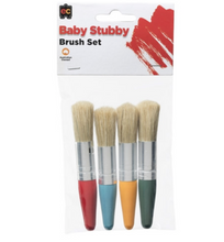 Load image into Gallery viewer, Baby Stubby Brush Set