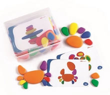 Load image into Gallery viewer, EDX Education Rainbow Pebble Set
