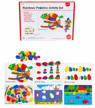 Load image into Gallery viewer, Rainbow Pebbles Activity Set