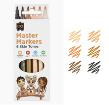 Load image into Gallery viewer, EC- Master Markers 6 Skin Tones