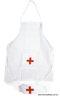 Nurse Apron and Hat