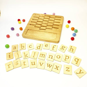 Double Sided Alphabet Board Game