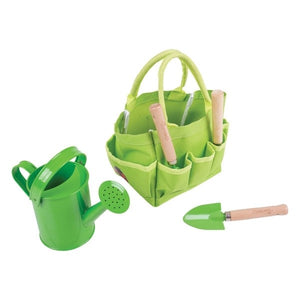 Small Tote Bag with Garden Tools