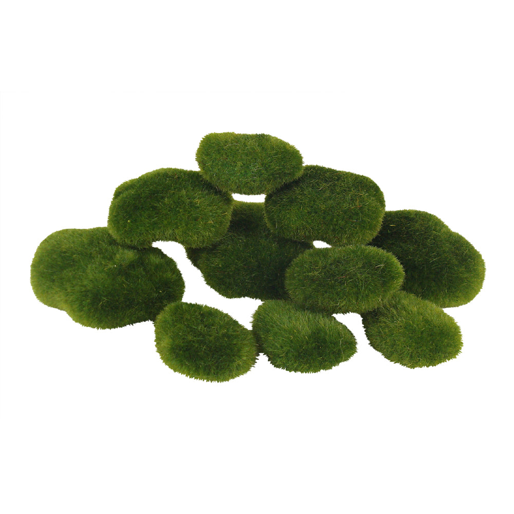 Garden Moss Rocks – Pack of 10