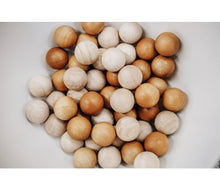 Load image into Gallery viewer, 2 Tone Wooden Balls Set of 50