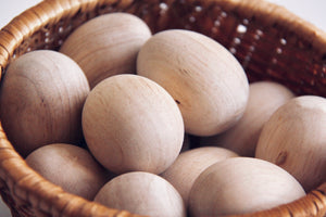 DIY Wooden Eggs