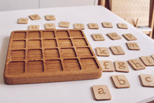Load image into Gallery viewer, Double Sided Alphabet Board Game