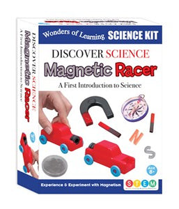 Wonders of Learning Discover Science Kit- Magnetic Racer