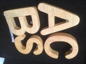 Natural Capital Letters 26pc