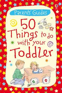50 Things To Do With Your Toddler- Cards