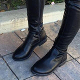 Freeinshop Trendy Over The Knee Long Boots