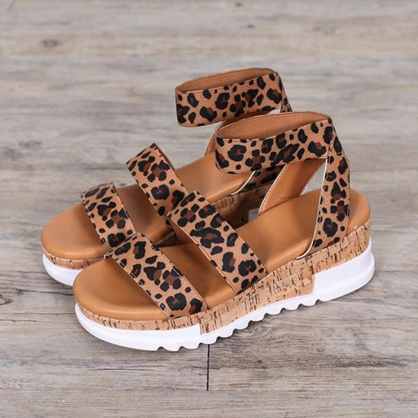 Freeinshop Women Fashion Casual Wedge Heel Sandals